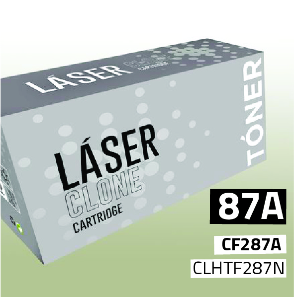 Clone para HP CF287A (87A) Black (9.000 Copias)