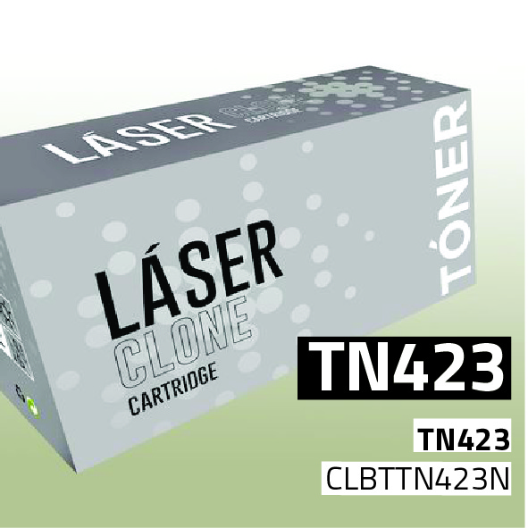 Clone para Brother TN423BK Kit Toner Black (6.500 Copias)