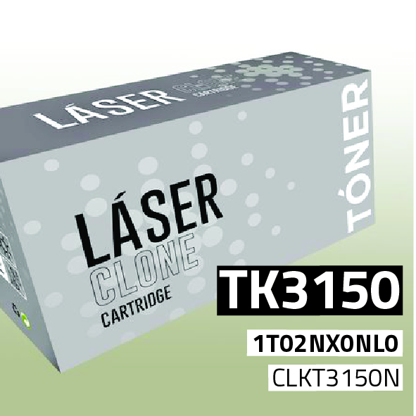 Clone para Kyocera TK3150 Kit Toner Black (14.500 Copias)