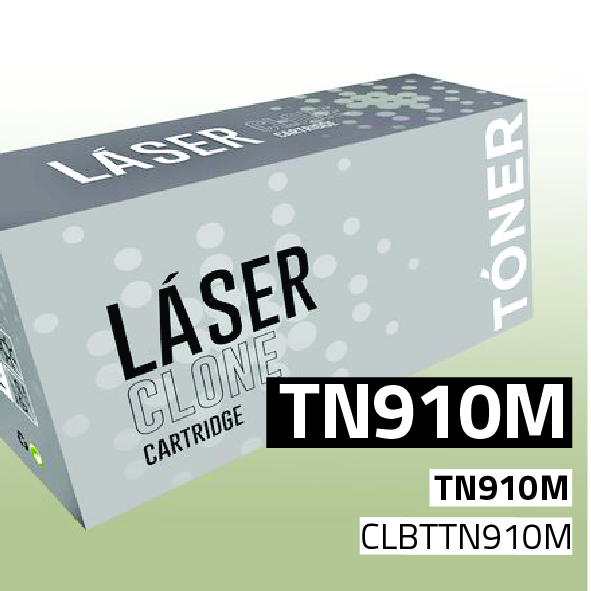 Clone para Brother TN910M Kit Toner Magenta (9.000 Copias)