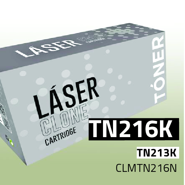 Clone para Konica Minolta TN216K Kit Toner Black (29.000 Copias)