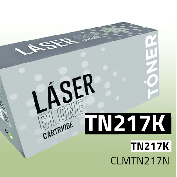 Clone para Konica Minolta TN217K Kit Toner Black (17.500 Copias)