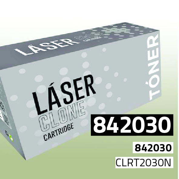 Clone para Ricoh 842030 Kit Toner Black (20.000 Copias)
