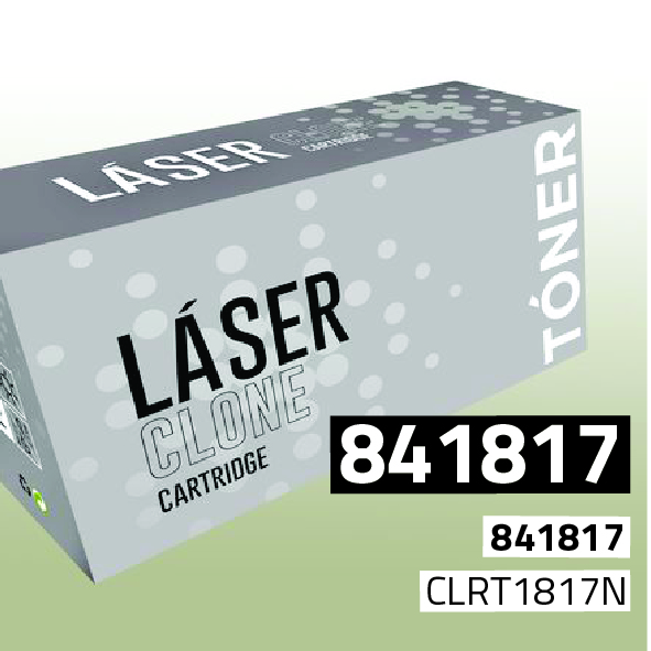 Clone para Ricoh 841817/841813 Kit Toner Black (29.500 Copias)