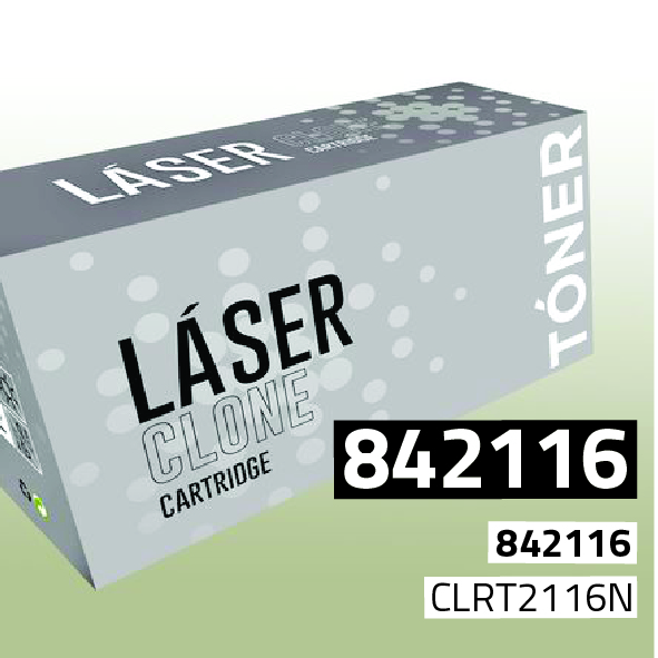 Clone para Ricoh 842116 Kit Toner Black (43.000 Copias)