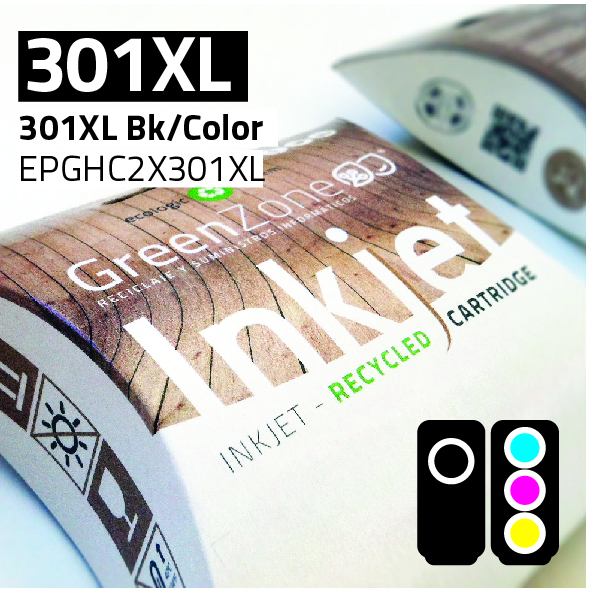 Economy Pack HP 301XL Bk + 301XL Color